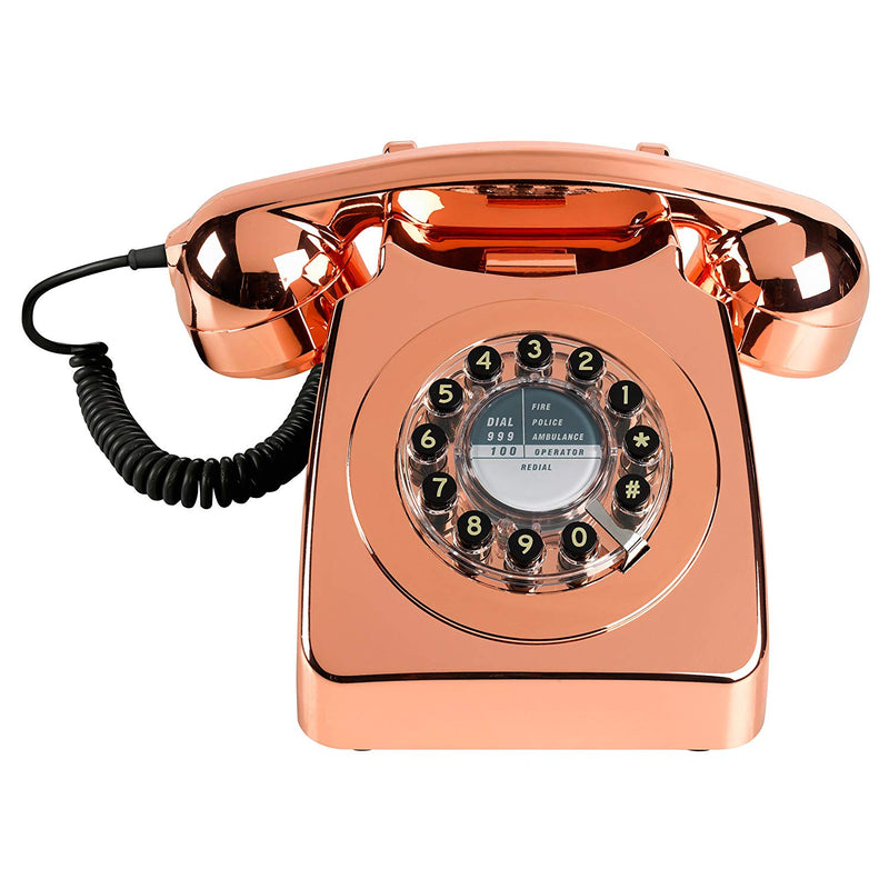 Wild and Wolf Retro 746 Phone . copper