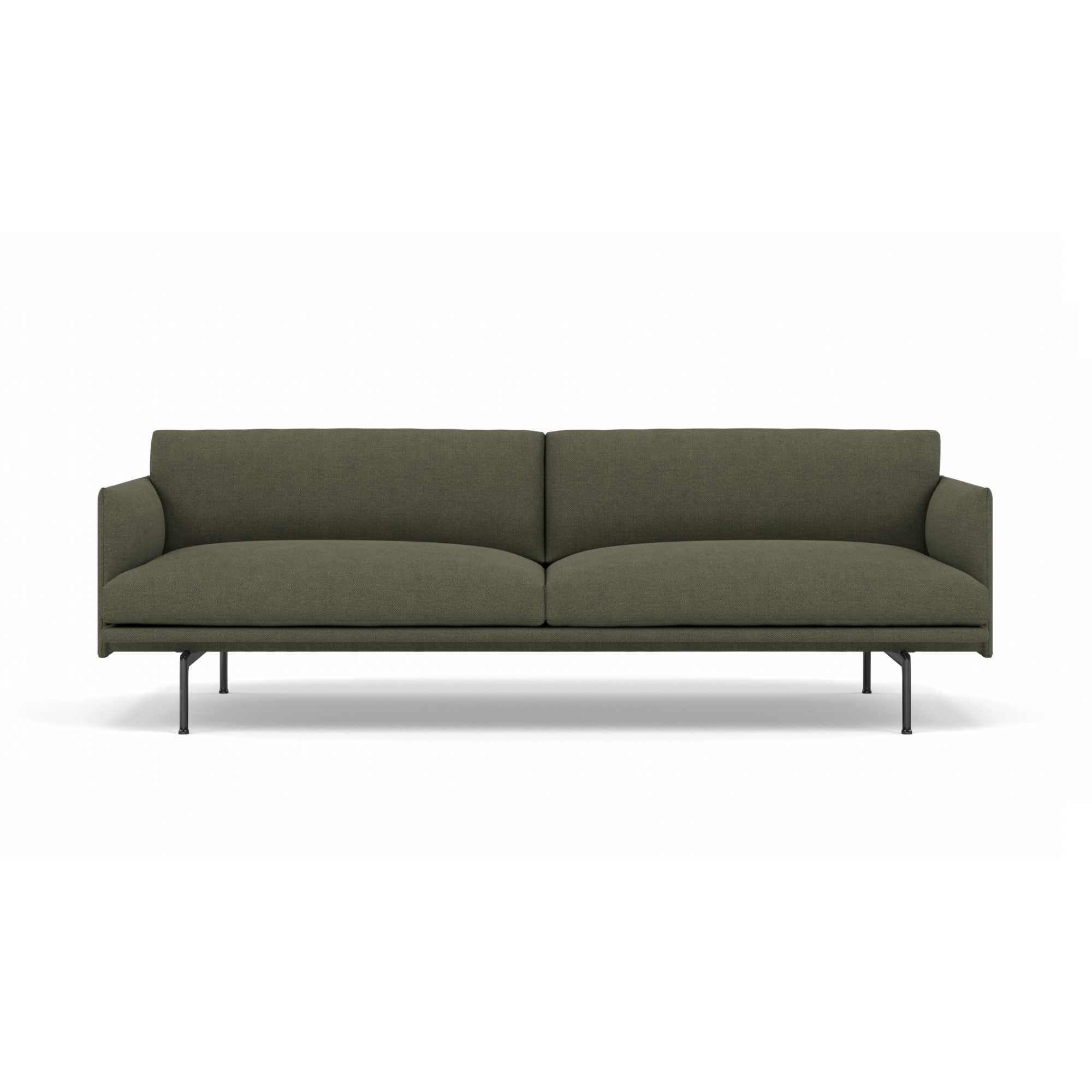 Muuto Outline Chair Black Base , Fiord 961