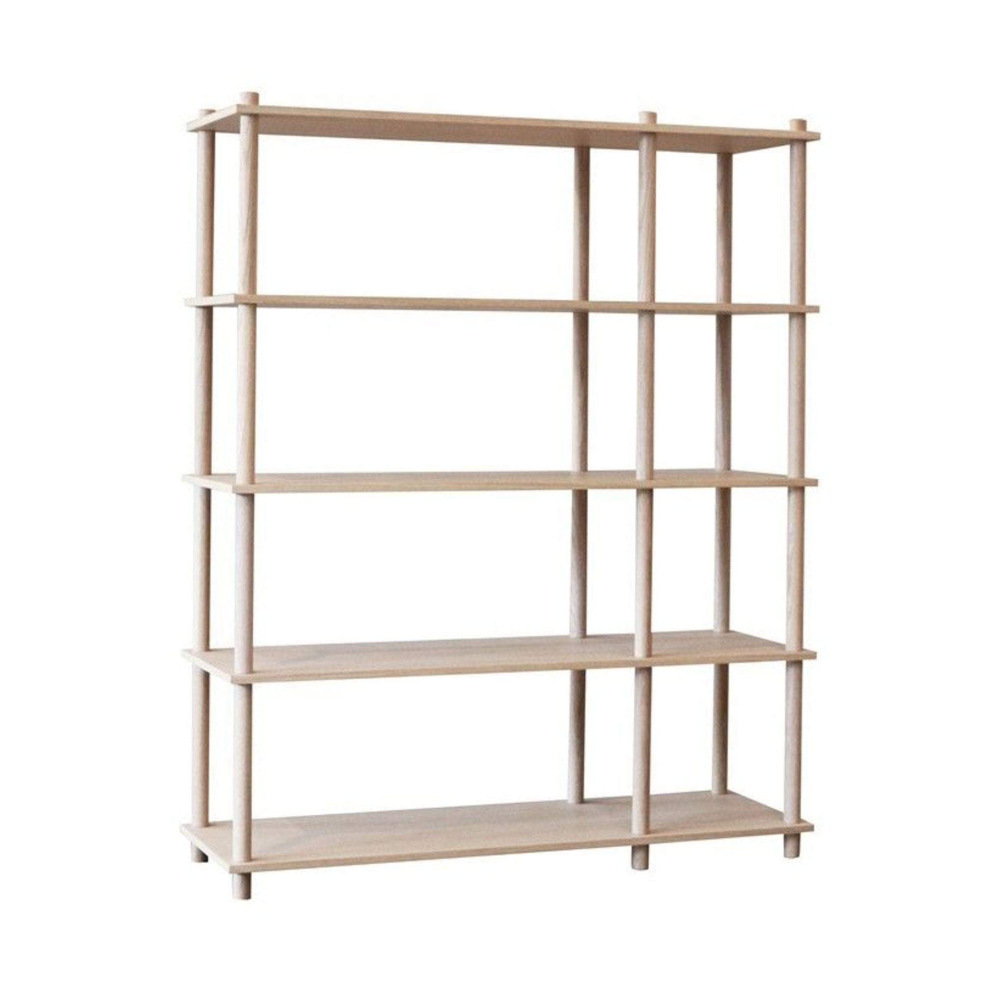 Woud Elevate Shelving System 9 , Oak