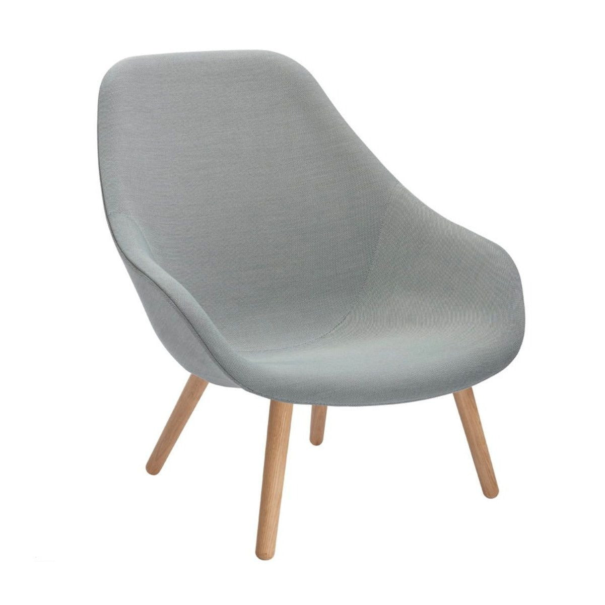 Hay AAL 92 About A Lounge chair, clear lacquered oak, steelcut trio 133