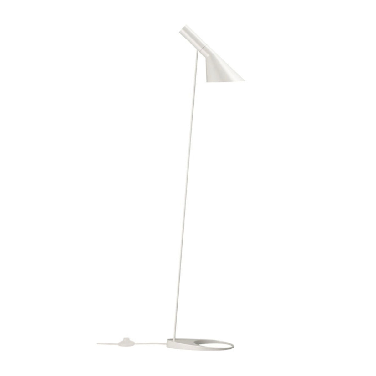 Louis Poulsen AJ floor lamp, white