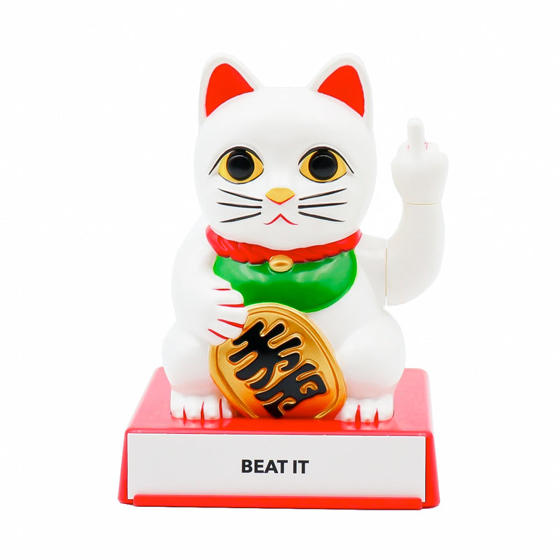 Locomocean Cattitude Lucky Cat with Interchangeable Hands