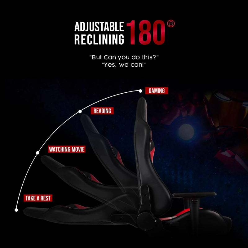 Marvel Avenger Gaming Chair Series E Type , Black