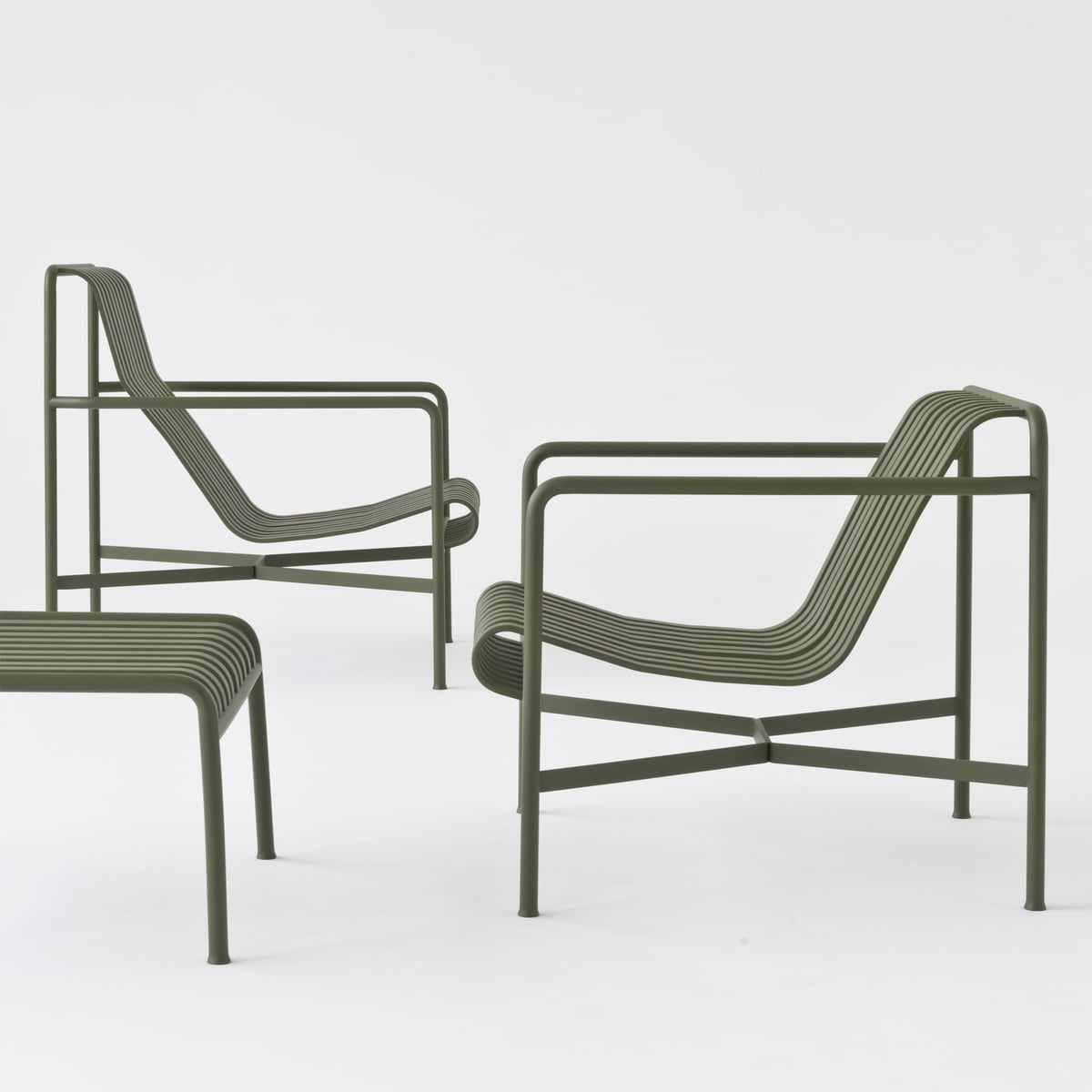 Hay Lounge Stoel.Hay Palissade Lounge Chair Low