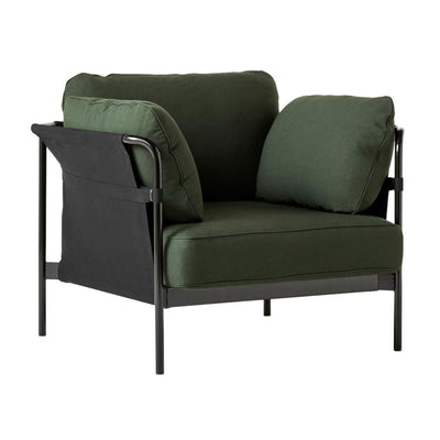 Hay Can lounge chair, black - black - steelcut975