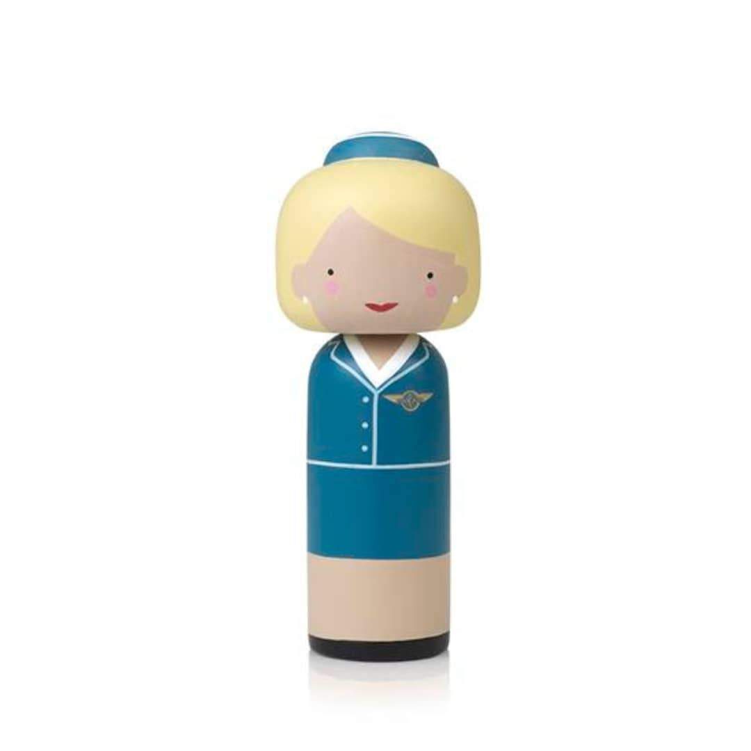 Lucie Kaas Kokeshi Pan Am