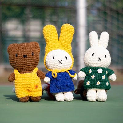 Just Dutch Handmade Doll . Miffy & Pastel Tulip