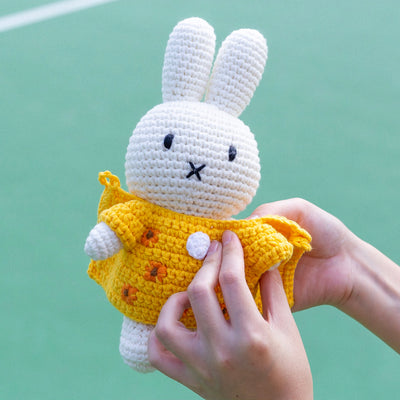 Just Dutch Handmade Doll . Miffy & Yellow Hat
