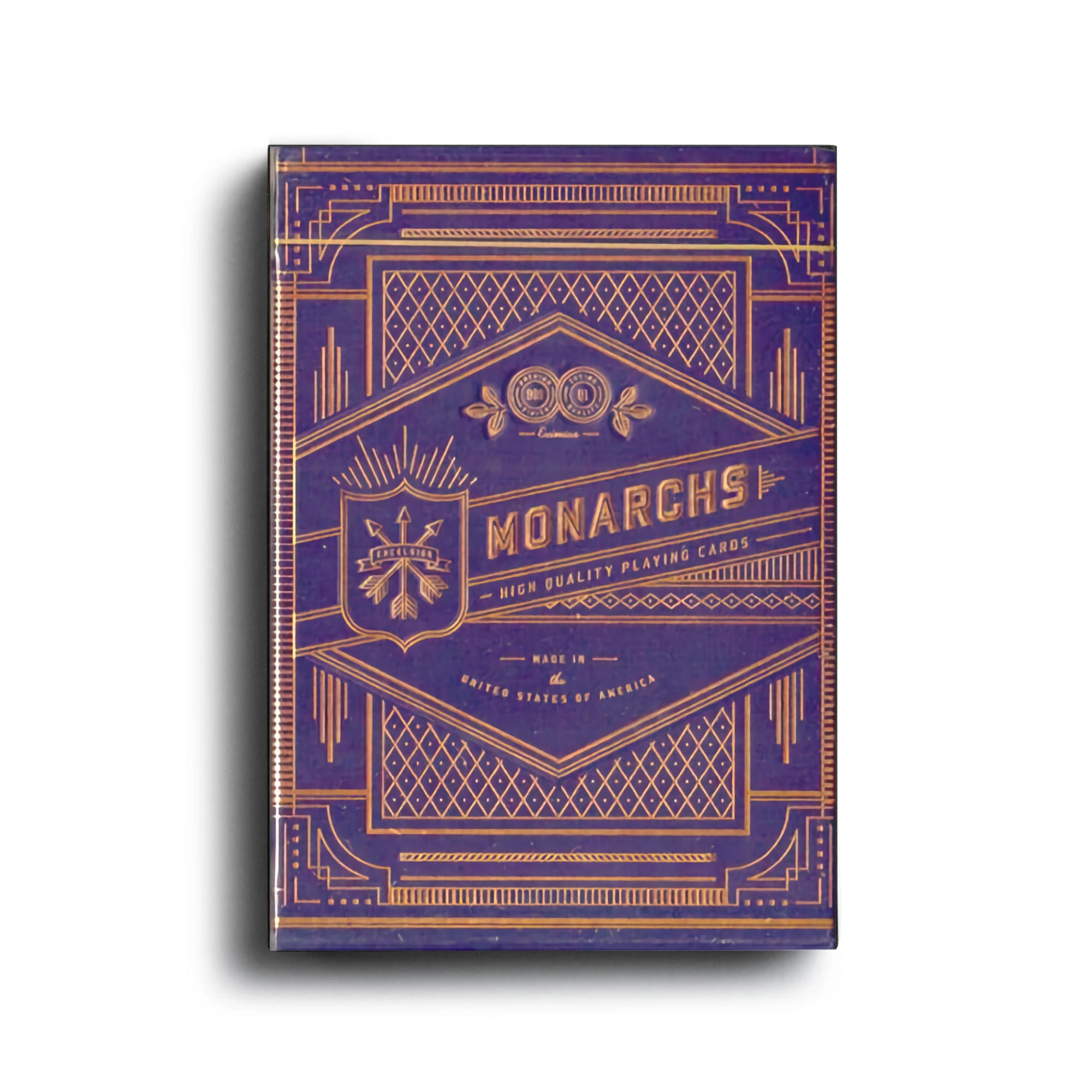 Theory11 Monarch Purple Playing Cards