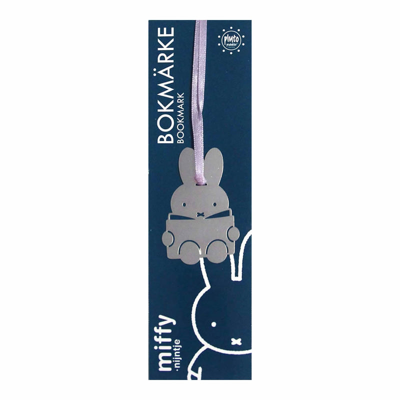 Miffy bookmark, Silver
