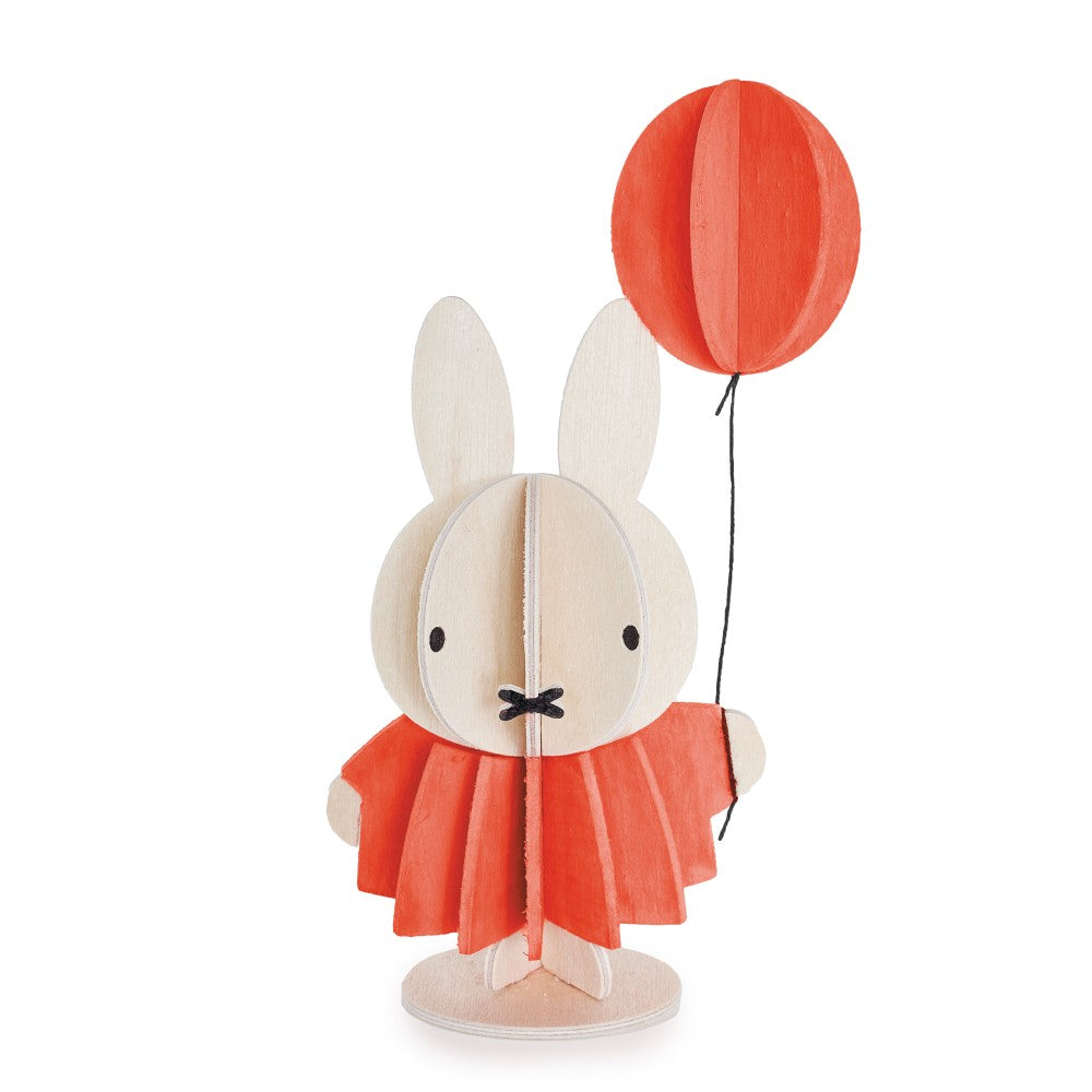 Lovi DIY Wooden Card . Miffy & Balloon