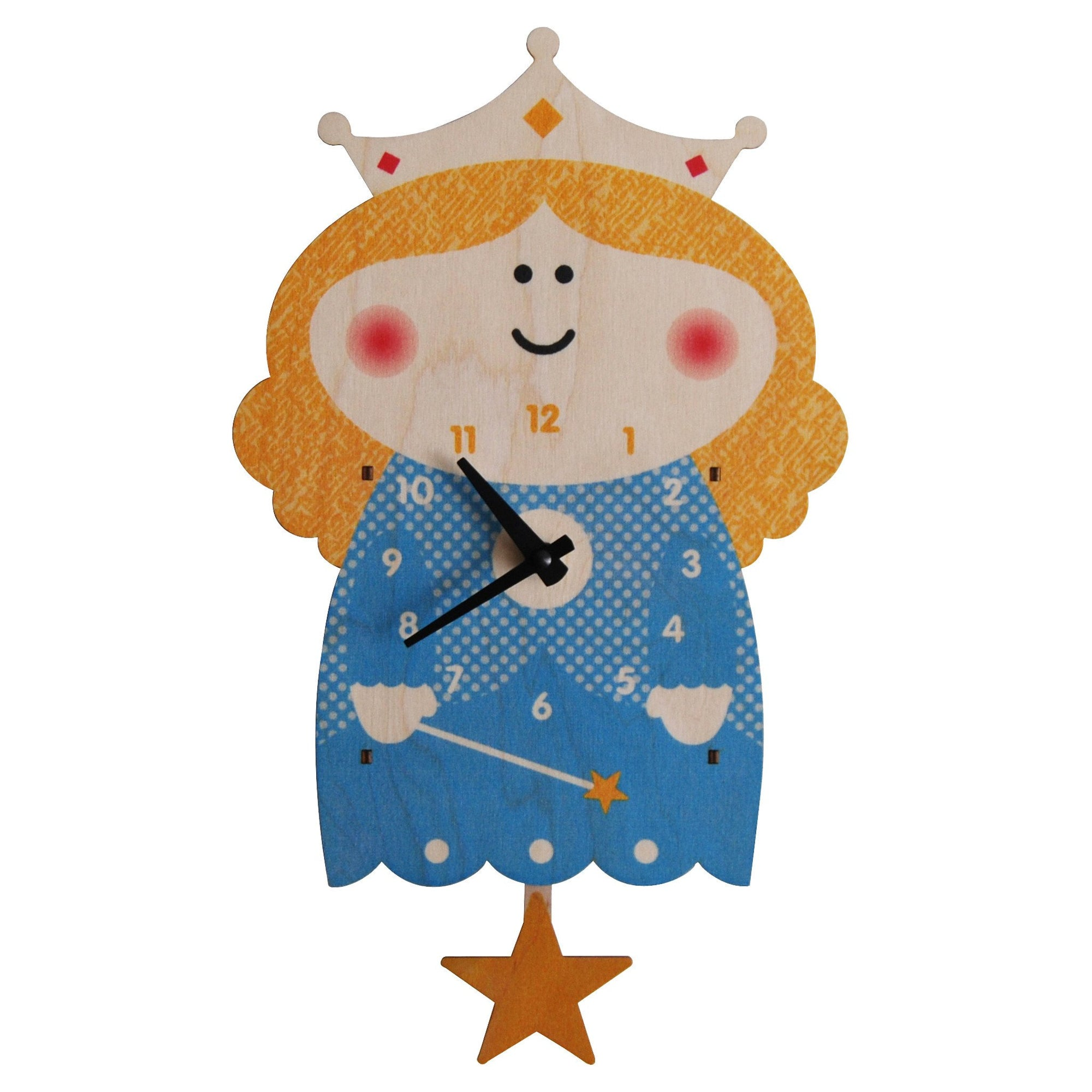 Modern Moose Pendulum Clock , Princess