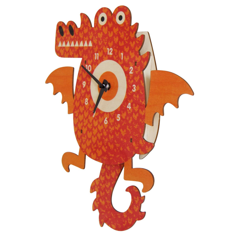 Modern Moose Pendulum Clock , Dragon