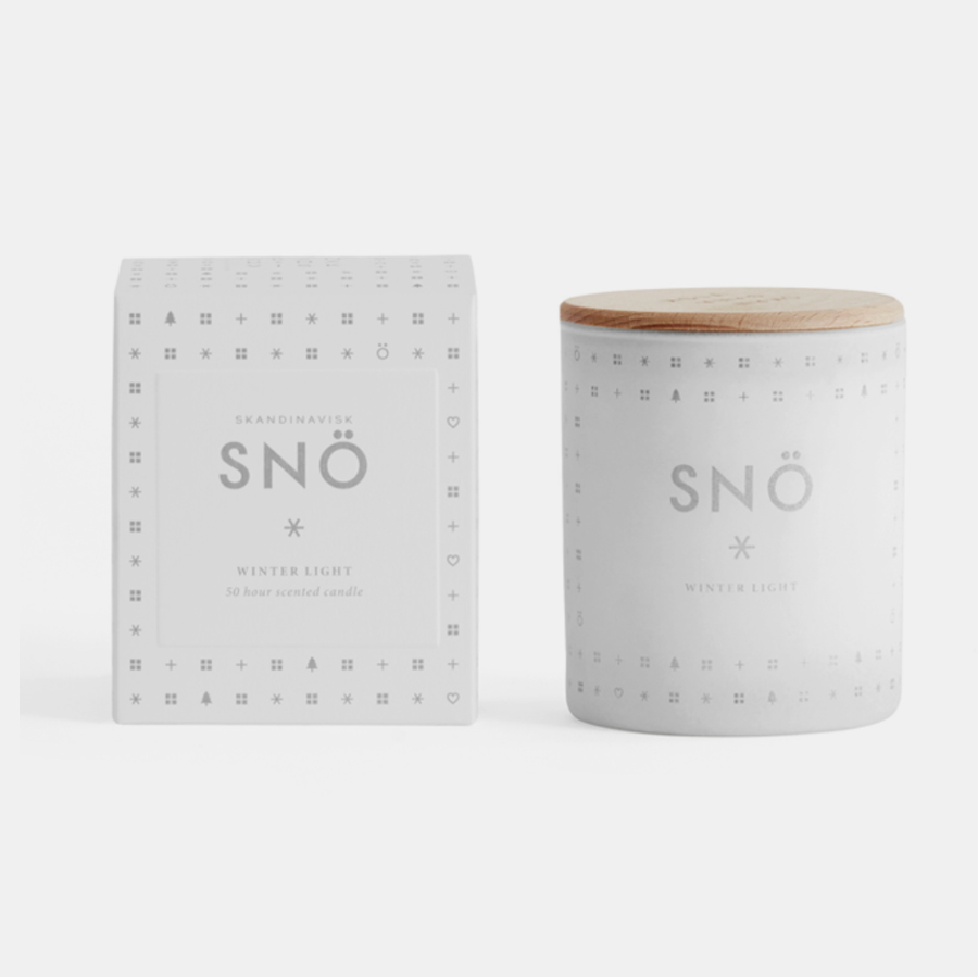 Scented Candle . SNÖ