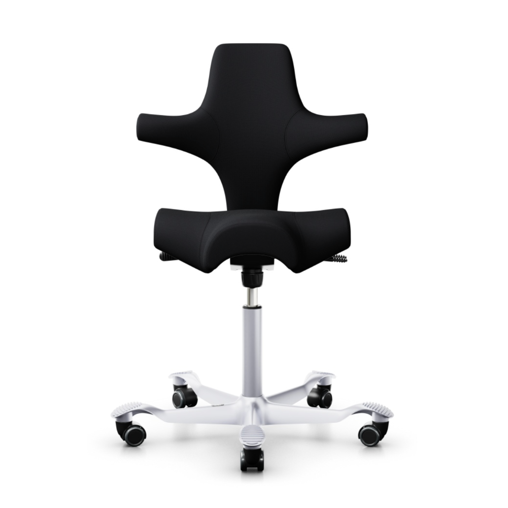 HAG Capisco 8106 ergonomic chair, fabric, steelcut trio119