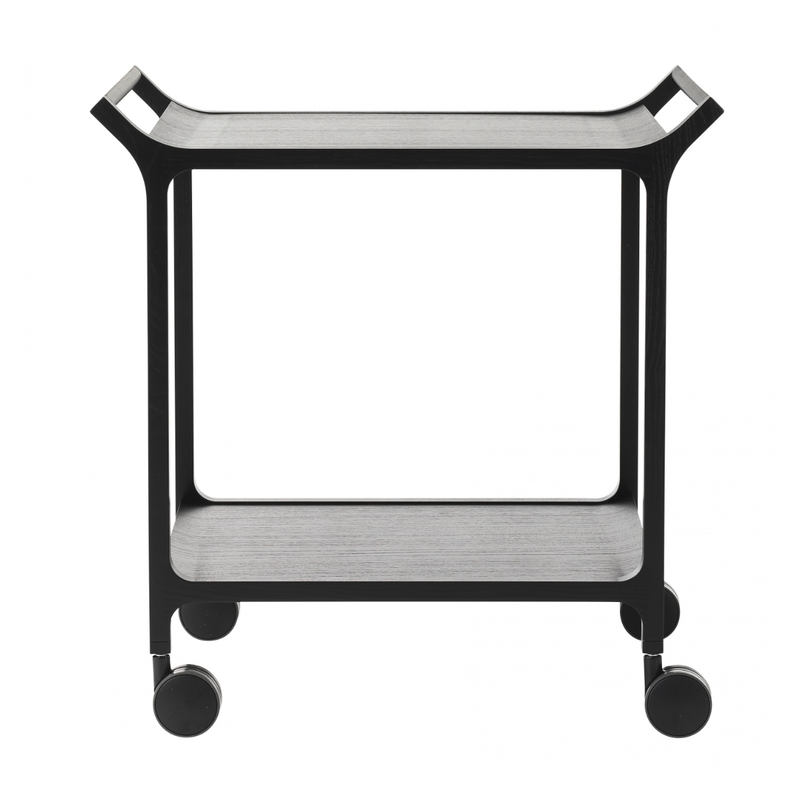 Swedese Teatime trolley with detachable tray, black, black
