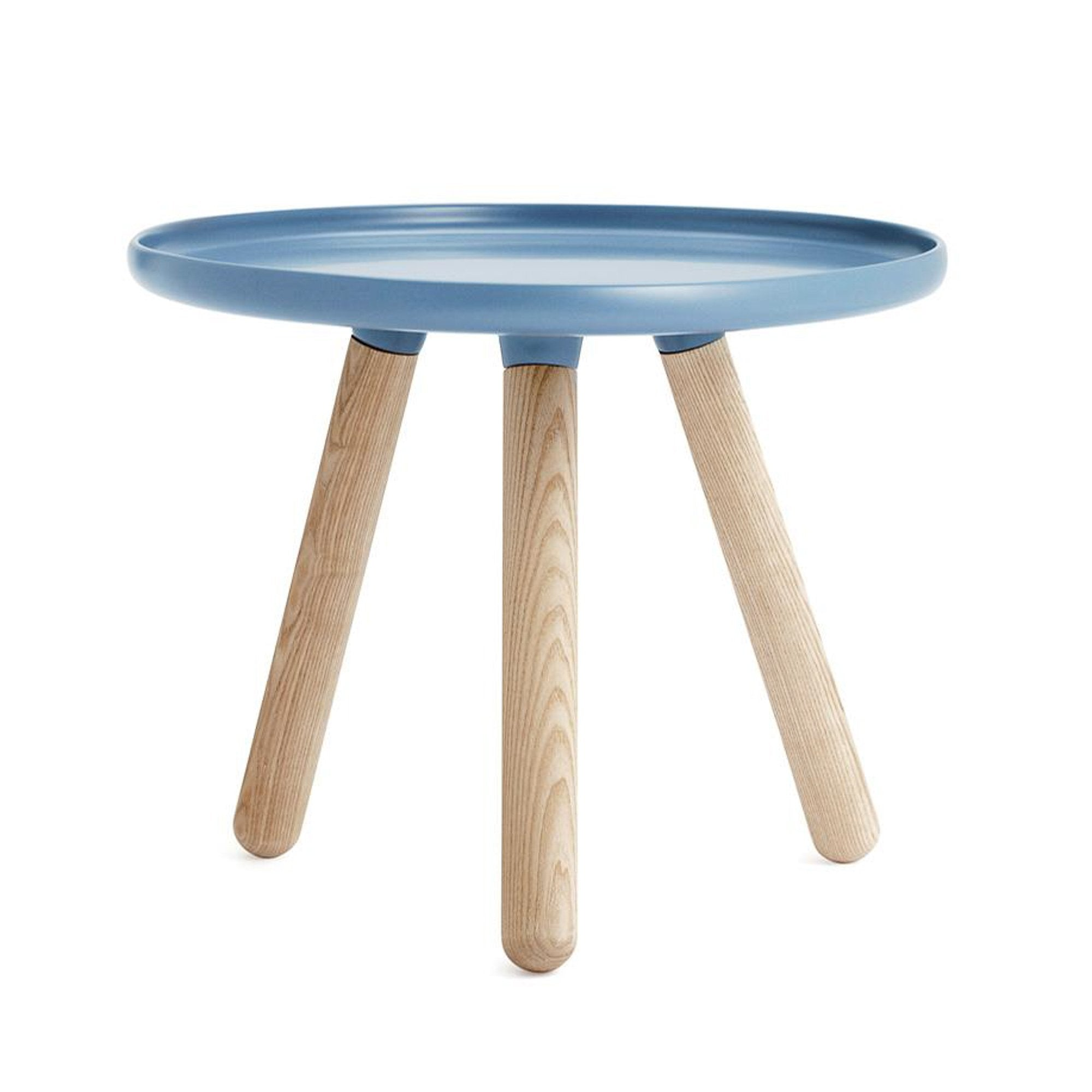 Normann Copenhagen Tablo Table Small , Blue/Oak