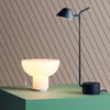 Menu Standard Table Lamp . Shiny Opal
