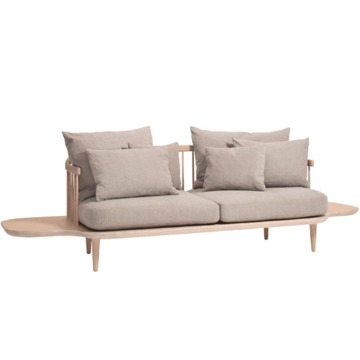 &Tradition Fly Sofa SC3 white oiled oak base hot madison 094