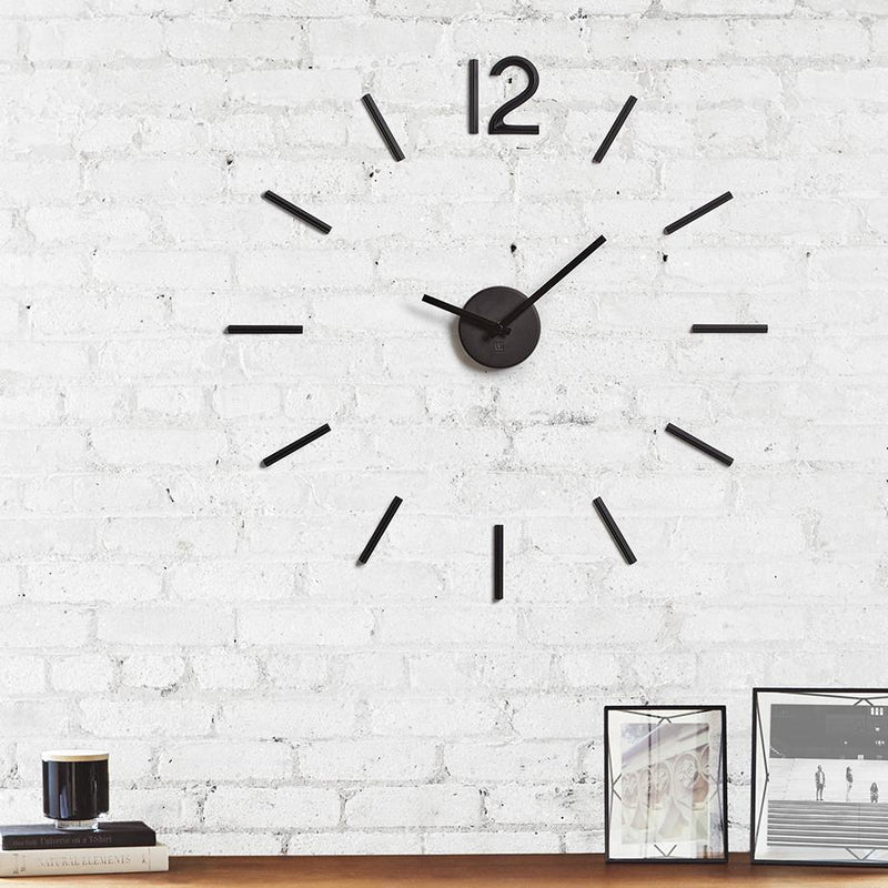 Umbra Blink wall clock black