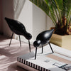 Normann Copenhagen Shorebird . Black
