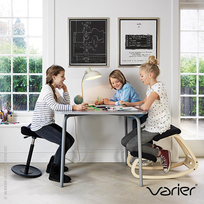Varier Variable Balans Kneeling Chair , Black/Oak