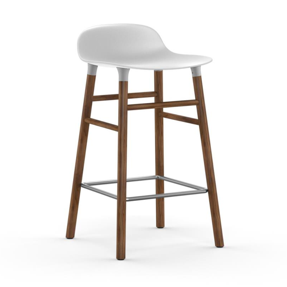 Normann Copenhagen Form stool walnut 65