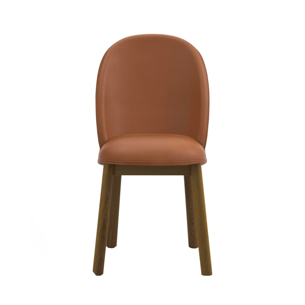 Normann Copenhagen Ace Chair Smoked Oak Leg Ultra Leather