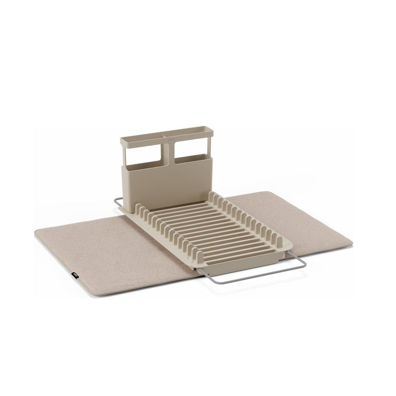 Umbra UDry Over the Sink Dish Drying Rack, Latte (51X57 CM)