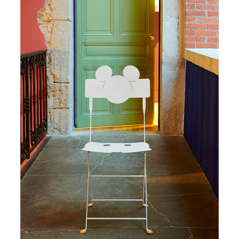 Fermob Mickey Mouse Bistro Chair , White
