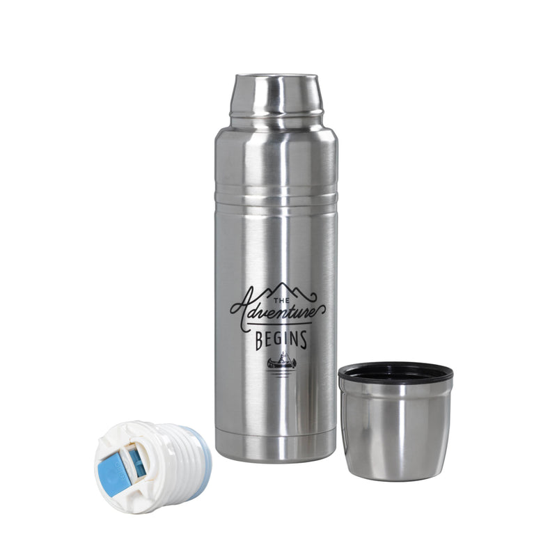 Gentlemen's Hardware Stainless Steel Flask 500ml