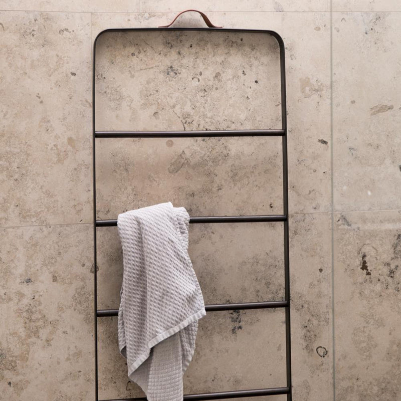 Menu Bath Towel Ladder , Black