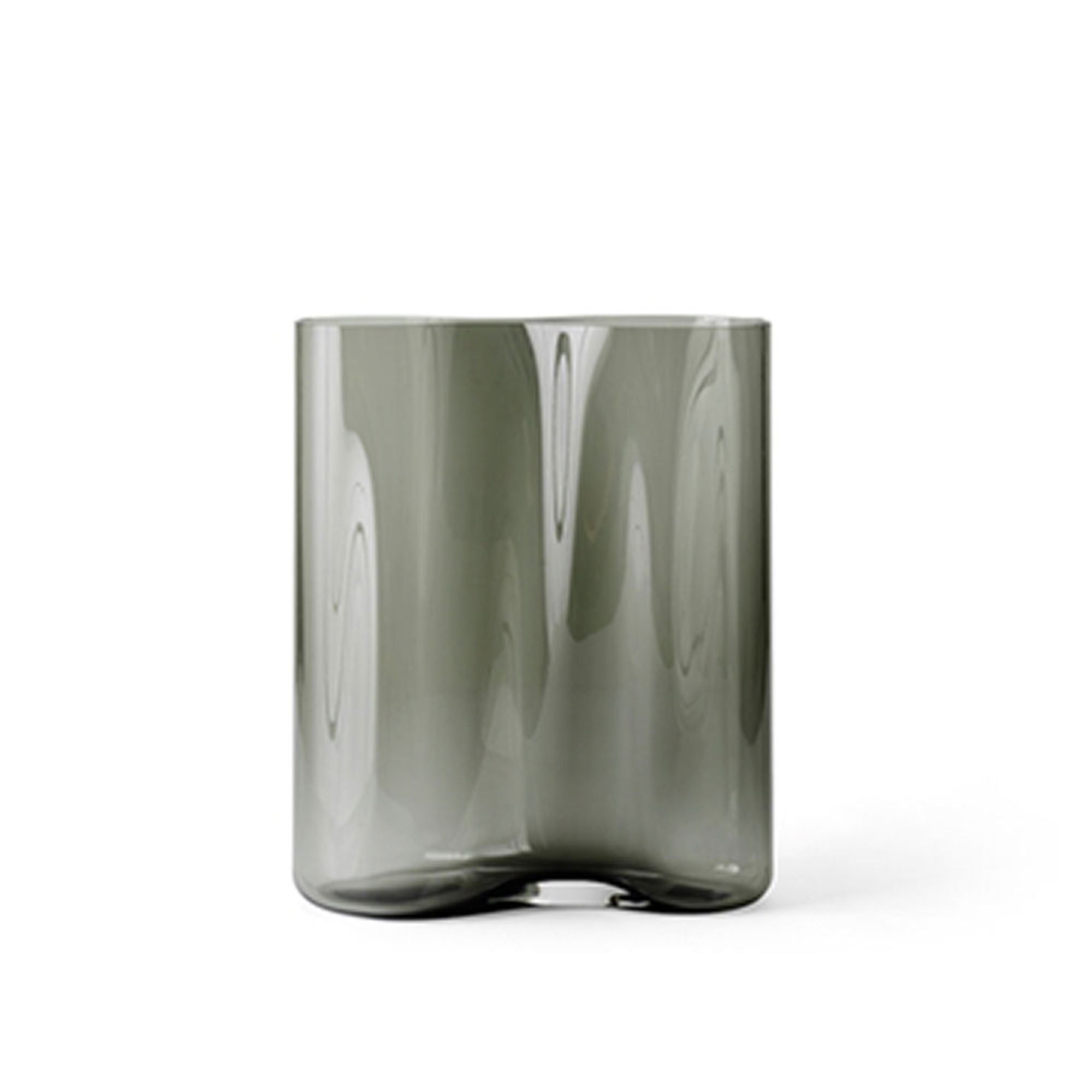 Menu Aer Vase 33 , Smoke Glass