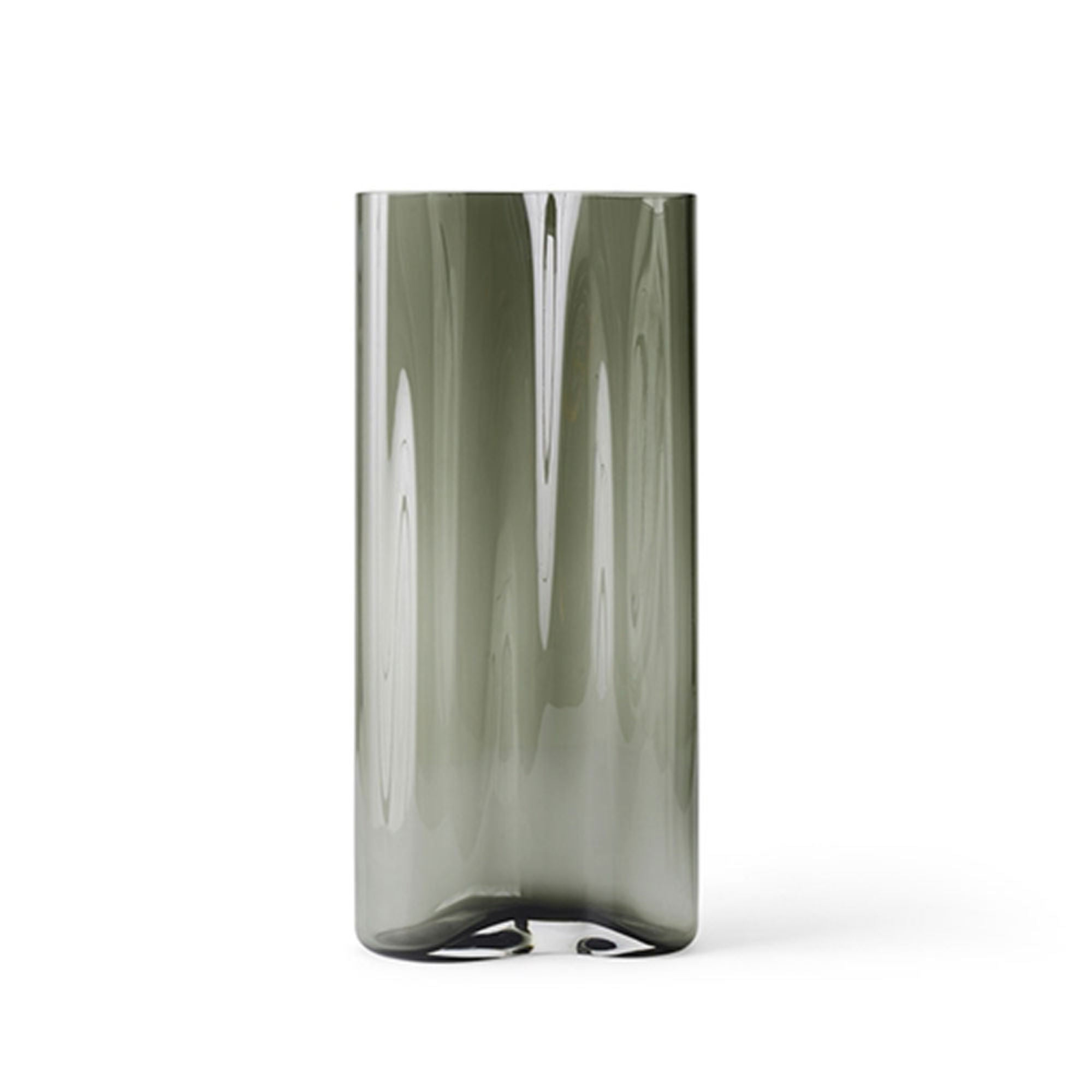 Menu Aer Vase 49 , Smoke Glass