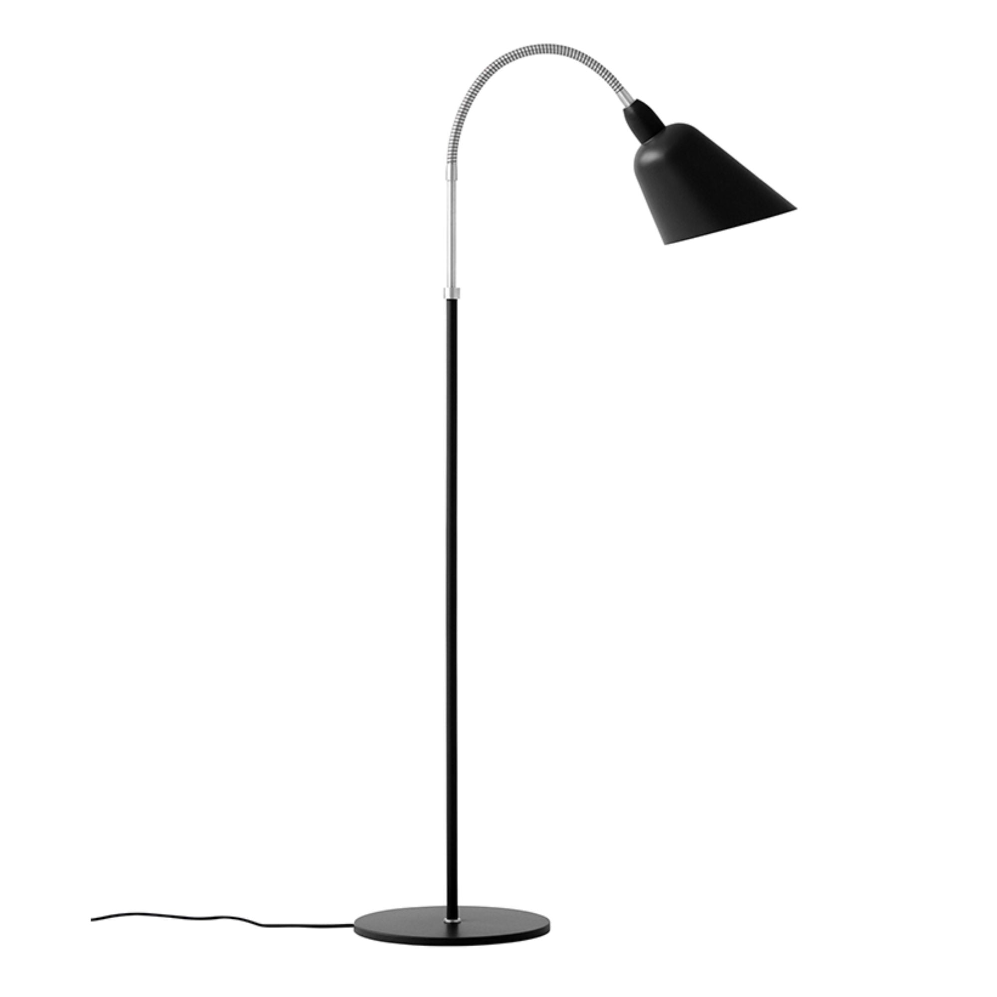 &Tradition AJ7 Bellevue Floor Lamp , Black/Steel