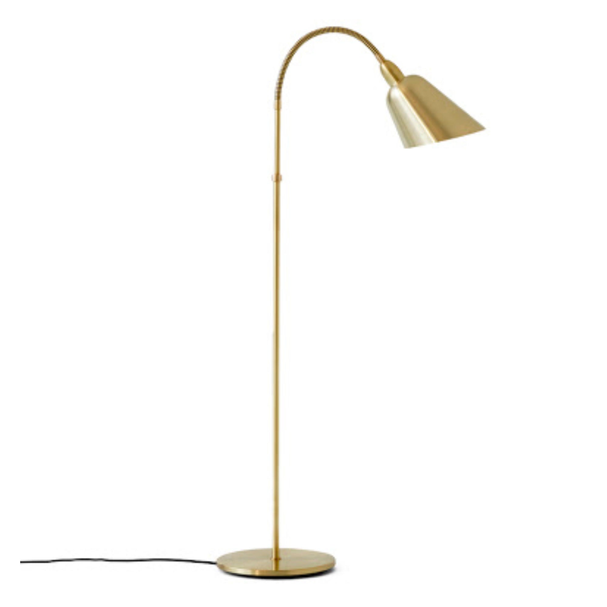 &Tradition AJ7 Bellevue Floor Lamp , Brass