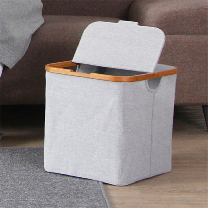 Gudee Akore storage box with lid, sqaure