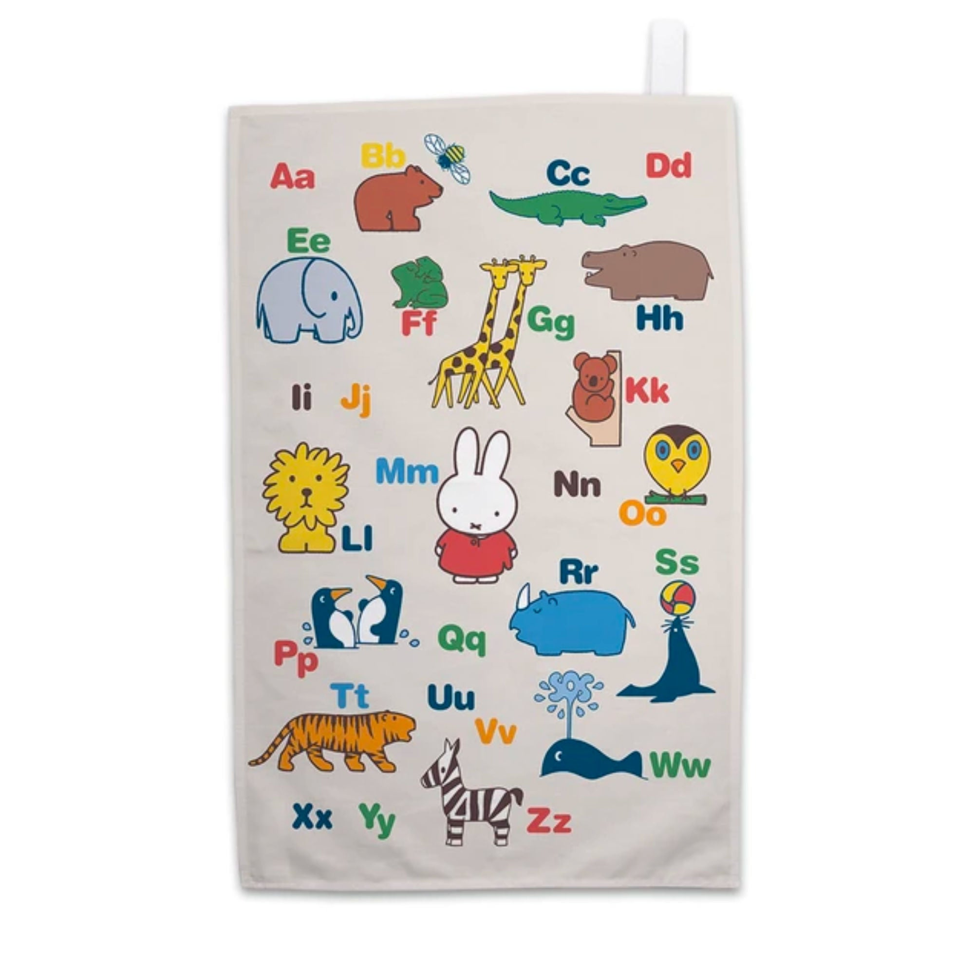 Miffy Tea Towel , Alphabet