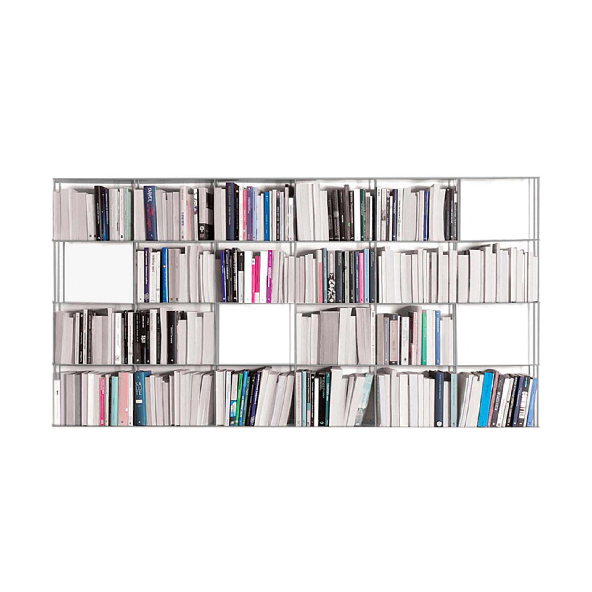 Kriptonite Krossing Shelving Unit 200x100cm , Aluminium