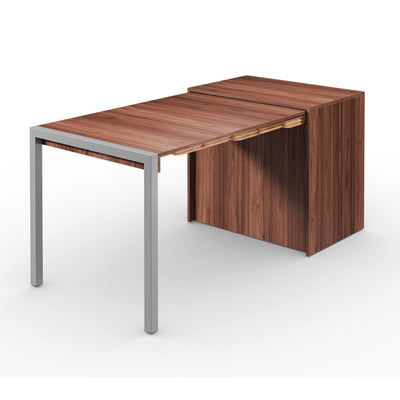 Alwin's Room&Board Extendable Table Sideboard ,  Walnut-Walnut