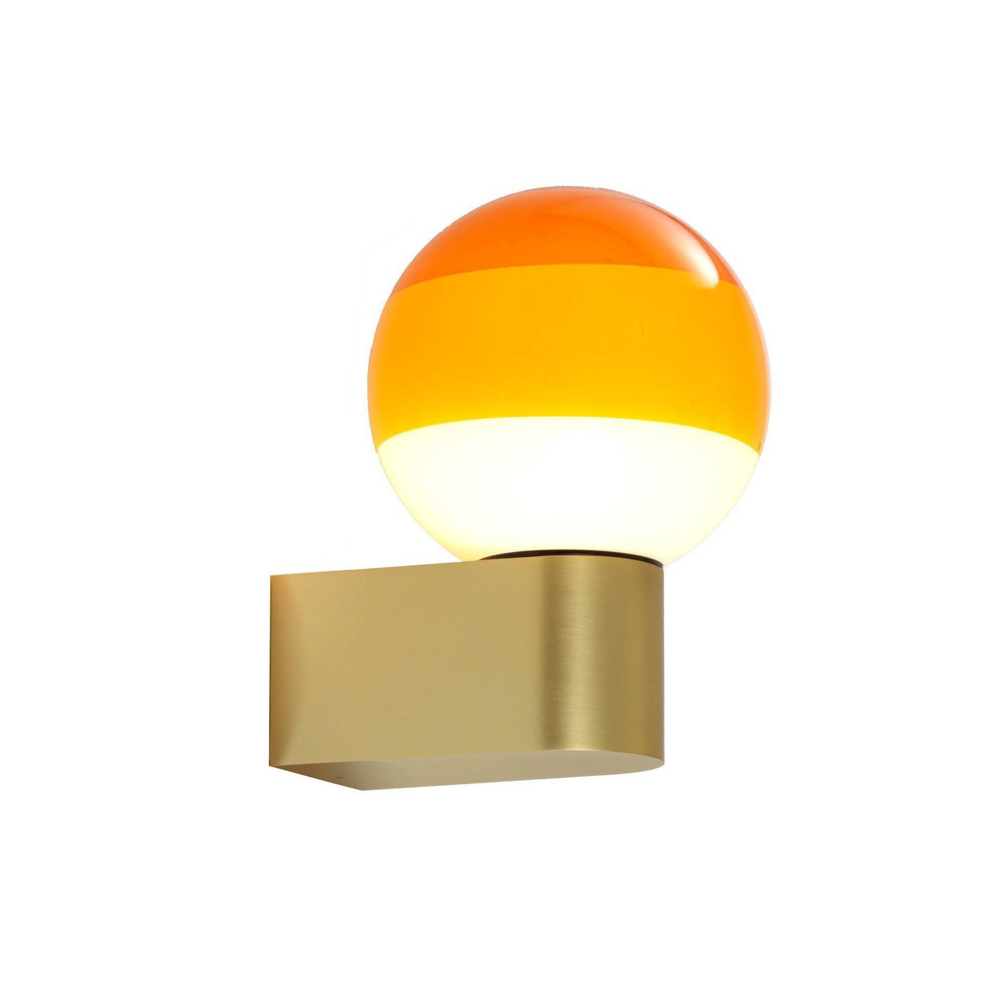 Marset Dipping light A1-13 wall lamp, amber