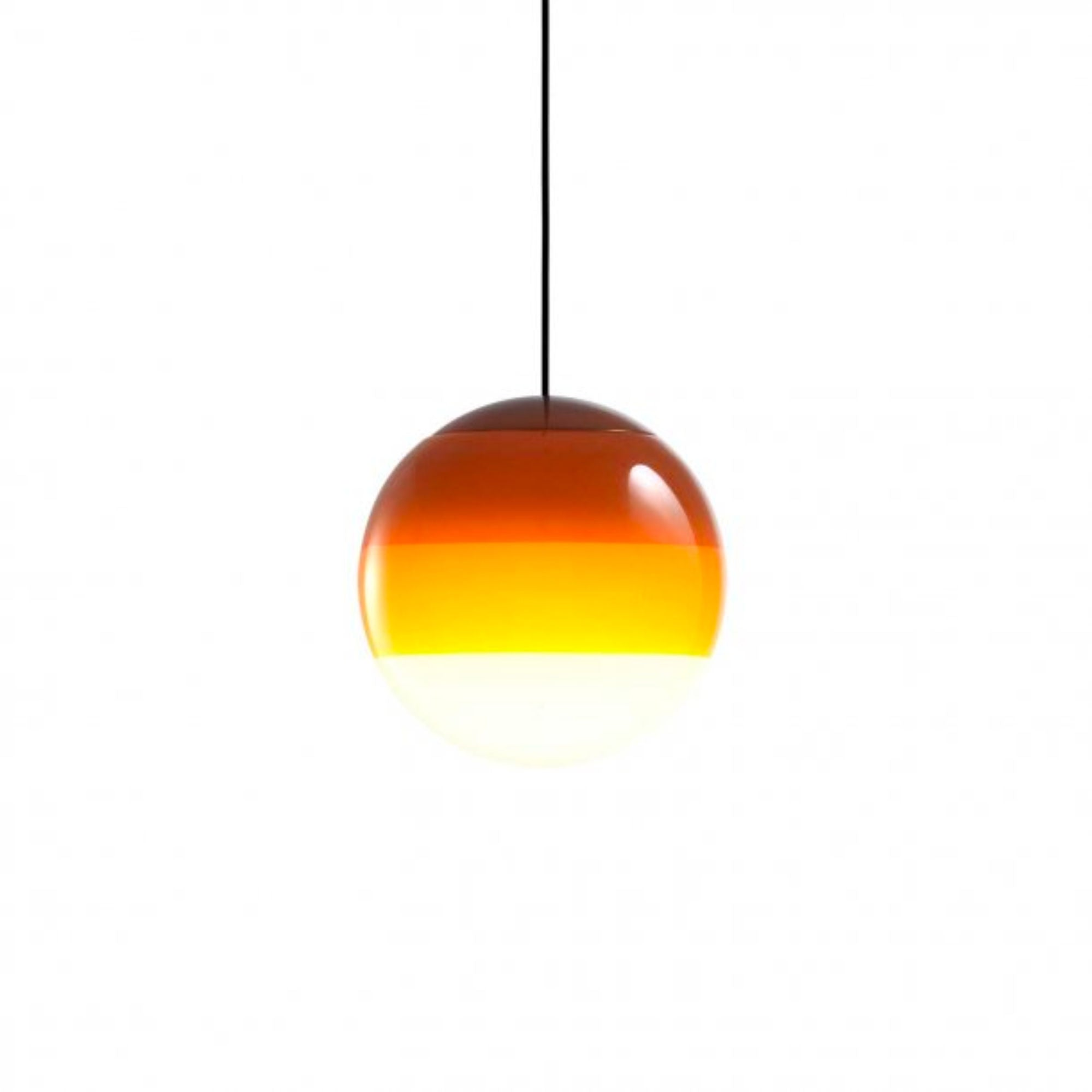 Marset Dipping Light 20 Pendant , Amber