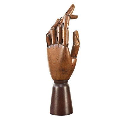 Authentic Models Wooden Art Hand