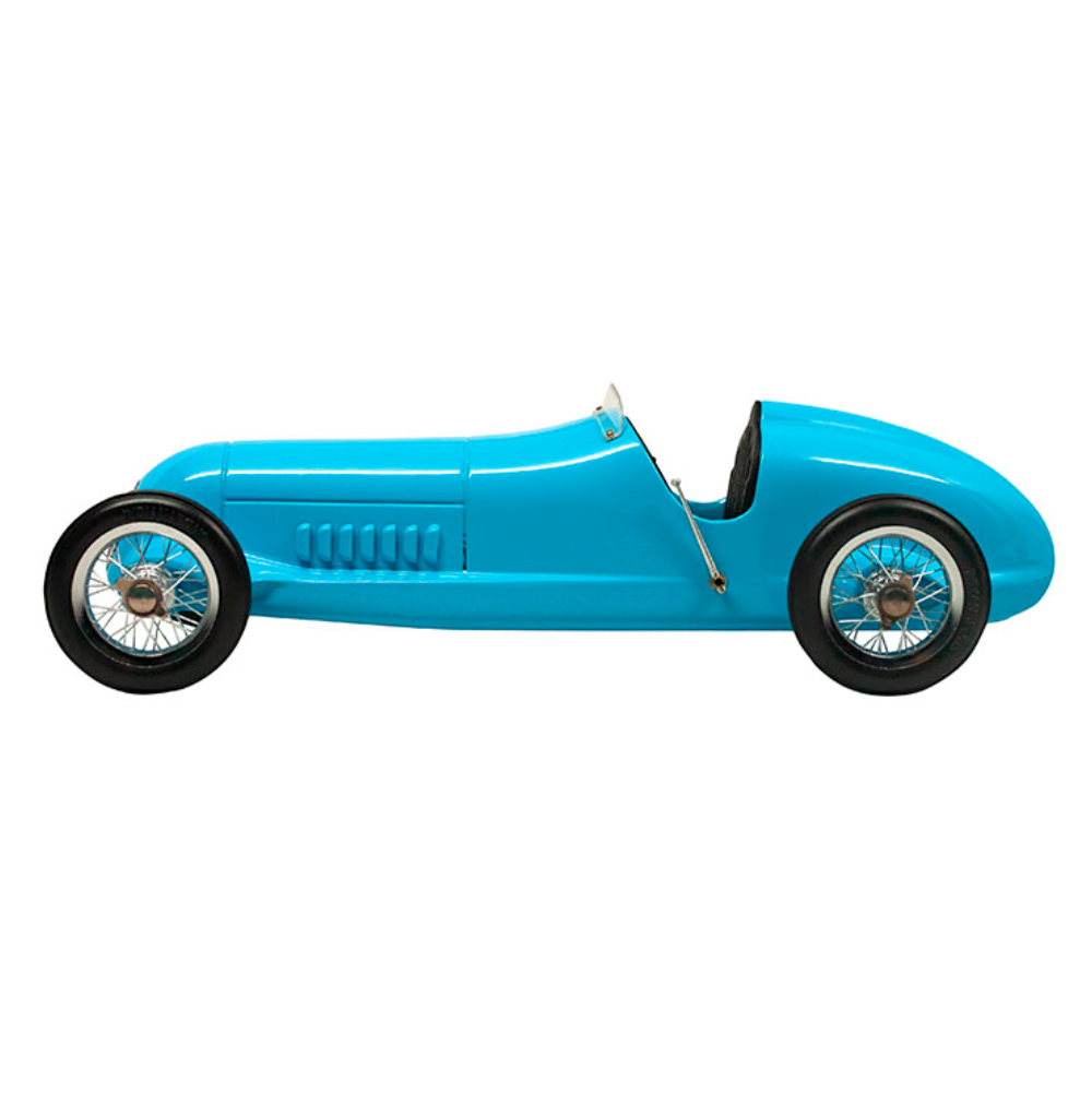 Authentic Models Blue Racer Car Model