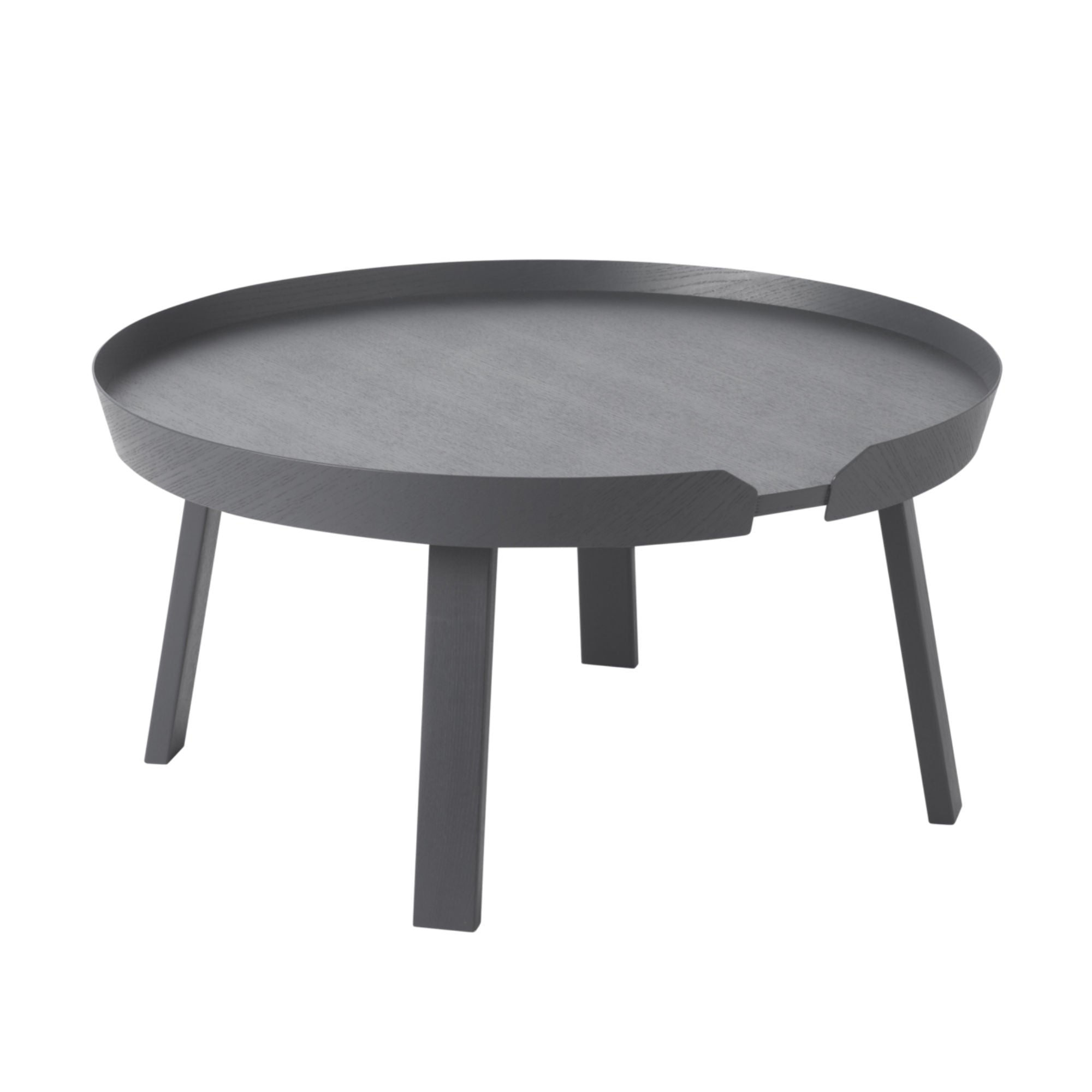 Muuto Around Coffee Table Large Ø72 , Anthracite