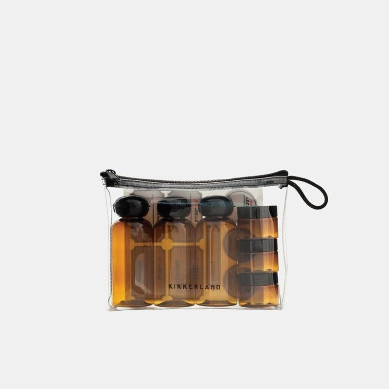 Kikkerland Apothecary Travel Bottle & Jar