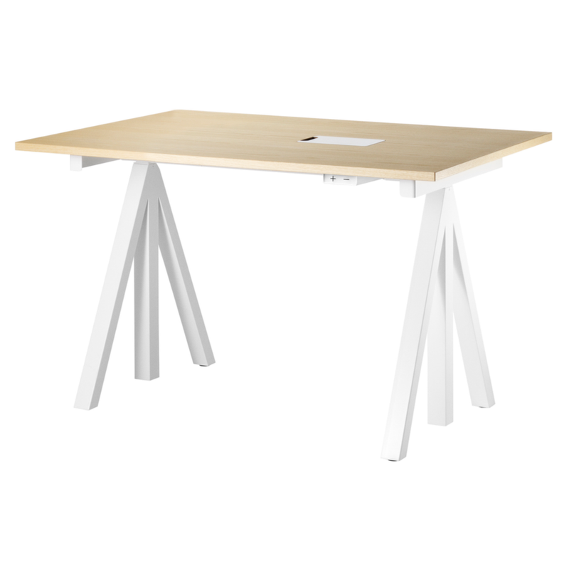 String® Works Electrical Height-adjustable Work Desk W120xD78cm