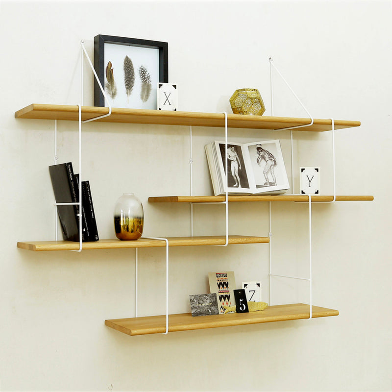 Studio Hausen Link Shelf Setup1 , Ash-White