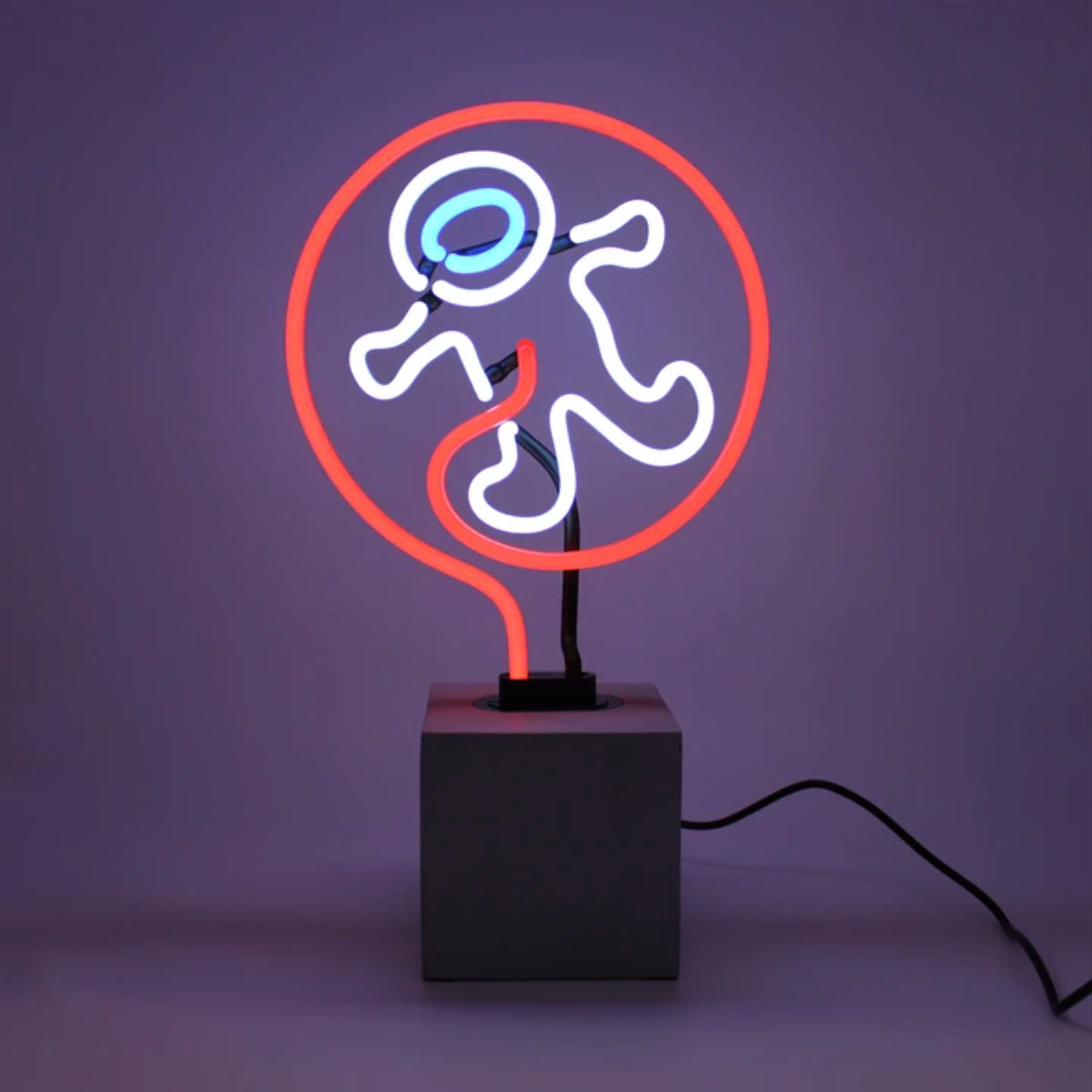 Locomocean Neon table lamp, astronaut