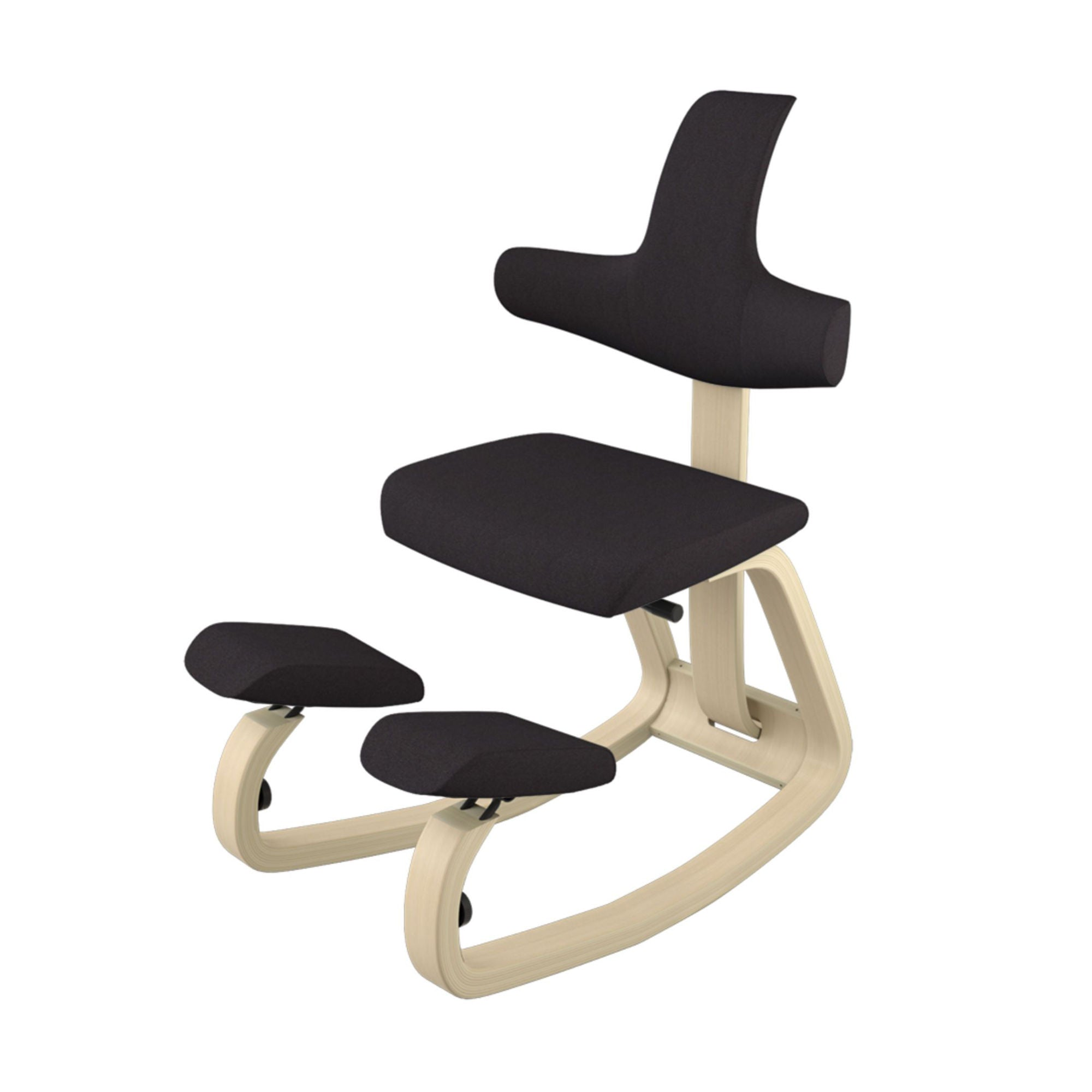 Varier Thatsit Balans Kneeling Chair , Black/Oak